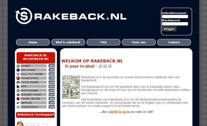 rakeback-nl
